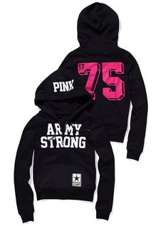 Army Strong- Victoria's Secret style