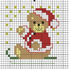 Cross Stitch Christmas Ornaments, Christmas Embroidery, Christmas Cross, Cross Stitch Cards, Beaded Cross Stitch, Cross Stitching, Cross Stitch Designs, Cross Stitch Patterns, Needlepoint Stockings