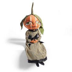 Gretzy Pumpkin Figure