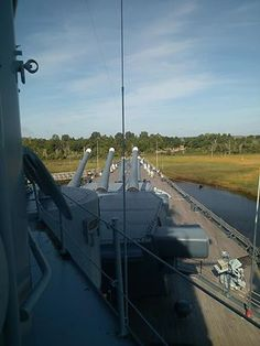 USS North Carolina, Wilmington, NC.  They brought this ship in when I was in the 6th grade and gave us all free tickets.