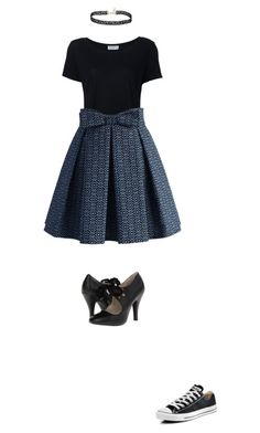 """""""""""She held the world upon a string But she didn't ever hold me Spun the stars on her fingernails""""-Panic! At the Disco"""" by maryeliza2000 ❤ liked on Polyvore featuring Frame, Chicwish, Converse and Miss Selfridge"""
