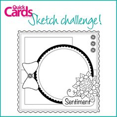 Quick Cards issue 138, Sketch Challenge