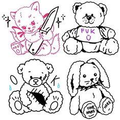 Cute Little Tattoos, Cute Tats, Mini Tattoos, Body Art Tattoos, Small Tattoos, Aesthetic Tattoo, Aesthetic Drawing, Tattoo Sketches, Tattoo Drawings