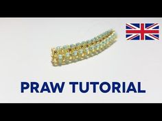 ENG DIY Tutorial PRAW Prismatic Right Angle Weave - YouTube