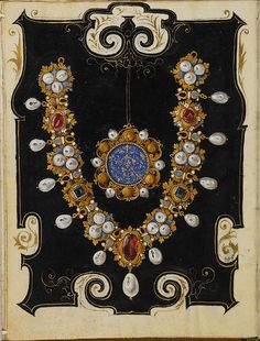 The Jewel Book of the Duchess Anna of Bavaria (1550s) 3