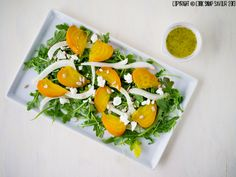 W Roasted Beet, Shaved Fennel and Goat Cheese Salad with Orange Poppy Seed Dressing-3