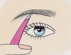 PinTutorials: Once they grow back I am definitely doing this! How to pluck your eyebrows in 4 easy steps - I had no idea correctly plucked eyebrows had such a big effect on your face shape and cheekbones!