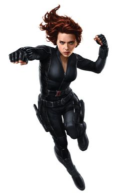 Captain America: The Winter Soldier - Black Widow Promo Art