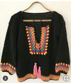 Fabulous Crochet a Little Black Crochet Dress Ideas. Georgeous Crochet a Little Black Crochet Dress Ideas. Crochet Granny, Crochet Stitches, Crochet Baby, Knit Crochet, Crochet Patterns, Crochet Tops, Crochet Bodycon Dresses, Black Crochet Dress, Crochet Cardigan