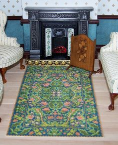 Hey, I found this really awesome Etsy listing at https://www.etsy.com/listing/200425053/doll-house-miniature-carpet-arts-and