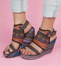 Terrabiza Wedges   Blowfish Shoes  Too cool!!  I want!!