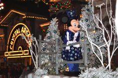 Disneyland Christmas Parade 2012