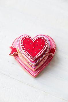 10 BEST VALENTINES COOKIES! Valentine cookie stack