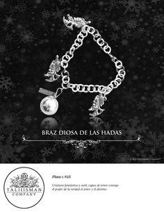 BRAZALETE DIOSA DE LAS HADAS  TALIIISMAN COMPANY® ¡Contáctanos! 01800 2867967 www.facebook.com/taliiisman info@taliiisman.com
