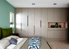 Family Playground – Interior Renovation by HAO Design Wardrobe Room, Wardrobe Design Bedroom, Built In Wardrobe, Built In Furniture, Furniture Design, Home Bedroom, Bedroom Decor, Wardrobe Door Designs, Cupboard Design