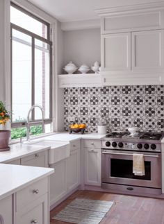 "This fabulous kitchen is from our feature ""Sweet Luxuries"""