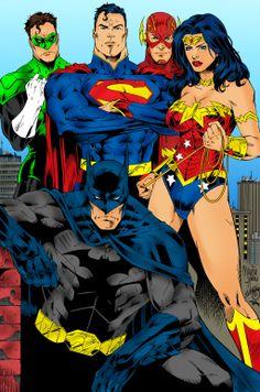 Justice League by frengethesaga