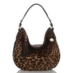 Brahmin Kathleen Hobo in leopard  ~ pure <3.  I see this in my very near future...