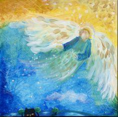 Dawn Blessings by Deborah Mores Art