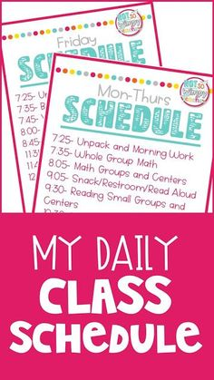 How do you fit it all in? Check out my daily class schedule to see how I fir in math centers, book clubs, reading centers, vocabulary, grammar and writing workshop!