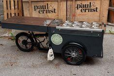 A new Pozzetti Bike can be found on the streets of Munich: Have fun with your new bike @gelato_monaco 😀 -- Pünktlich zu den heißen Temperaturen rollt ein Pozzetti Bike von paul&ernst durch München 😉 -- #ice #icecream #paulundernst #photooftheday #summer #fun #style #smile Mobile Food Cart, Gelato, Street Food, Monaco, Ice Cream, Bike, Summer, Inspiration, No Churn Ice Cream