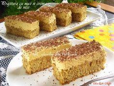 Romanian Food, Cornbread, Banana Bread, Caramel, Food And Drink, Baking, Ethnic Recipes, Desserts, Cakes