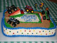 Copying this cake for son's monster truck party.