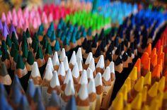 colours. pencils.