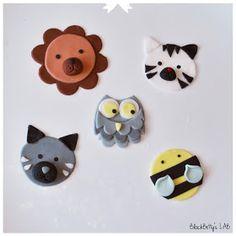 Tutorial: Cupcake 2D Toppers Lion, Bee, Zebra, Owl
