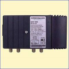 De GHV930 is een ruisarme Internet-compatibele coax 30 dB huisversterker, te gebruiken in middelgrote CAI-netwerken in woningen met meerdere aansluitingen. Bruikbaar voor Internet via de kabel. Bruikbaar voor analoge en digitale kabel-TV.  http://www.vego.nl/hirschmann/ghv930/ghv930.htm