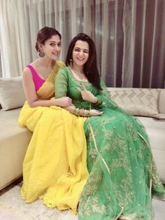 7 Nayanthara's Chicest Saree Looks of 2018 Best Picture For sleeveless blouse designs For Your Taste Dress Indian Style, Indian Dresses, Indian Outfits, Indian Wear, Indian Attire, Indian Saris, Indian Clothes, Saree Blouse Patterns, Saree Blouse Designs
