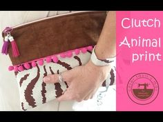 Clutch animal print, el bolso de mano de moda - YouTube