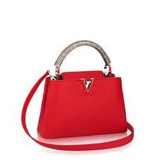 8c74e6b61c00 Louis Vuitton Capucines PM Shoulder Bags