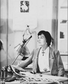 Gabrielle Coco Chanel. Chanel began designing at the beginning of the twentieth century, quickly gaining the attention of the fashion world with her stylishly functional daywear and her elegant evening wear.