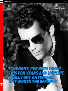 Henry Cavill ~ GQ UK Magazine June, 2013 | www.facebook.com/… | Flickr
