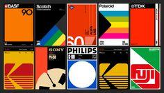 Retro Packaging, Packaging Design, Branding Design, 80s Design, Design Studio, Polaroid, Scotch, Ecole Design, Nostalgia