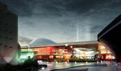 Emmen Theatre and Zoo Entrance by Henning Larsen Architects