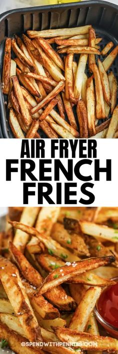 Crispy French Fries, French Fries Recipe, Homemade Aioli, Air Fryer French Fries, Making French Fries, Fresh Potato, Air Fried Food, Potato Dishes, Potato Recipes
