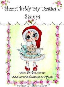 My Besties Stamps - Santas Girl