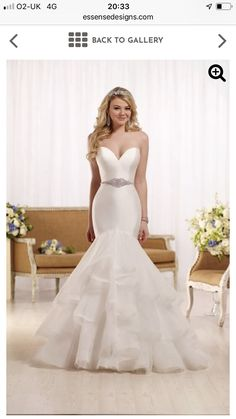 Essense Bridal Collection This designer fit and flare wedding gown with a sweetheart neckline from Essense of Australia embodies the essence of modern elegance. Sell My Wedding Dress, Pretty Wedding Dresses, Wedding Dress Pictures, Fit And Flare Wedding Dress, 2016 Wedding Dresses, Designer Wedding Dresses, Bridal Dresses, Wedding Gowns, Bridesmaid Dresses