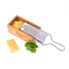 Olive Wood Cheese Grater with Storage Compartment for Grated Cheese Wooden Containers, Wooden Storage Boxes, Gadgets, Greek Olives, Cheese Grater, Dishwasher Soap, Fabric Gift Bags, Handmade Kitchens, Grated Cheese