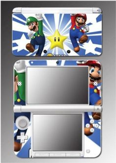 New Super Mario Bros Brothers Luigi Video Video Game Vinyl Decal Cover Skin Protector 12 for Nintendo 3DS XL $9.98 Your #1 Source for Video Games, Consoles & Accessories! Multicitygames.com