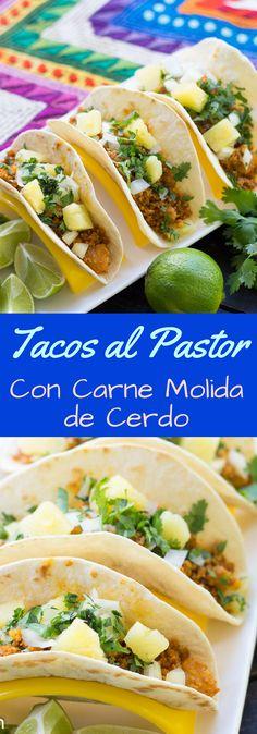 Beef Recepies, Pork Recipes, Mexican Food Recipes, Snack Recipes, Cooking Recipes, Ethnic Recipes, Taco Wraps, Good Food, Vestidos