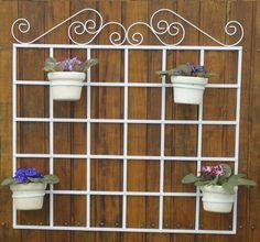 Magnífico foto do trelica para jardim vertical suporte para vasos flores plantas horta com #6A492C cor e 1484x1384 píxeis