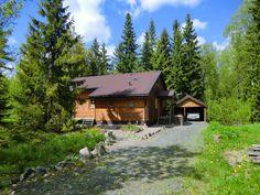Timmerhaus in Schweden, ein Ferienhaus wie man es sich wünscht