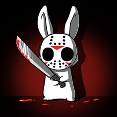 Killer Bunny T-Shirt TeeTurtle