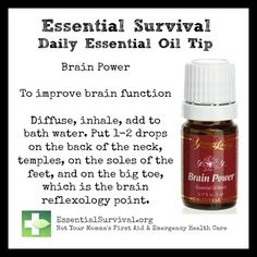Use Brain Power for improving function. Get things done! I'm Katie. Young living distributor 1748633
