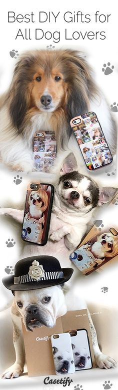 Must love dogs. Turn your favourite pet photos into a DIY custom iPhone6S phone case at http://www.casetify.com/make or download the casetify app.
