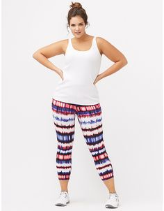 Plus size womens knit workout pants
