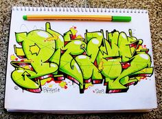 Strong style...    BRAKS(WSDM) - CHILE  http://www.flickr.com/photos/adicto/3272378178